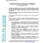 DÍA MUNDIAL DE LA ESCLEROSIS MÚLTIPLE 2011