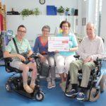 La Asociación Riojana de Esclerosis Múltiple dona 1.530€ al Proyecto M1
