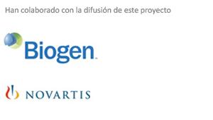 Biogen y Novartis han colaborado en la difusión de este proyecto