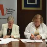 2017-05-29-Firma impulso investigación-Esclerosis-multiple-españa-red-investigacion-hospital-ramon y cajal-conxita tarruella-may villar