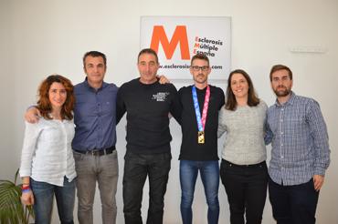 Álvaro de Arriba Esclerosis Múltiple España